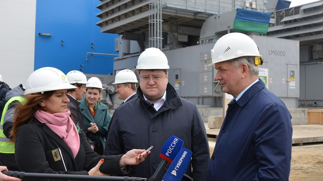 "General Director of ""Quadra – Power Generation"" and Governor of Voronezh Region Have Evaluated Progress of Construction of New Energy Unit at Voronezh HPP-1"